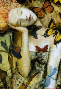 Delirium by Greg Spalenka - Visit: http://angelakamcomicart.wordpress.com/