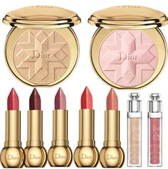 Dior Golden Shock Makeup Collection for Christmas 2014 #beauty #makeup #lips