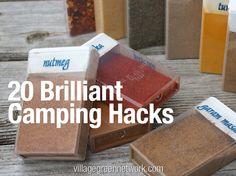 20 Brilliant Camping Hacks