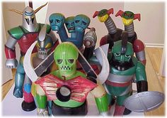 shogun warriors toys - Google Search