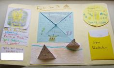 Ancient Egyptians Learning Unit Foldable (more detail at link)