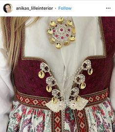 Folk Costume, Costumes, Norwegian Clothing, Antique Photos, Traditional Dresses, Norway, Inspiration, Clothes, Fashion