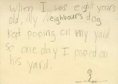 Super Hilariously Honest Notes From Kids - 20