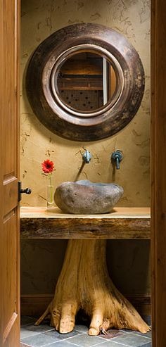 : Spaces » Bedroom and Bathrooms » Timber Frame Bath Design