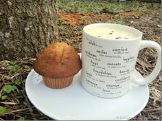 Starbucks and a banana nut muffin! #cbias #deliciouspairings