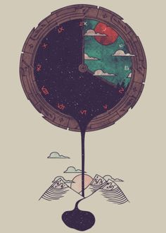 Landscapes Illustration poster prints by Hector Mansilla Art And Illustration, Inspiration Art, Art Inspo, Poster Making, Easy Paintings, Grafik Design, Art Design, Oeuvre D'art, Cool Artwork