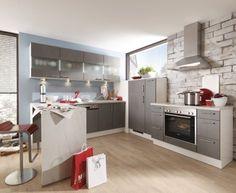 Moderní designová kuchyně Clarissa. Kuchyně a spotřebiče jedné značky - gorenje. #kuchyně #design #interiér #domov #gorenje