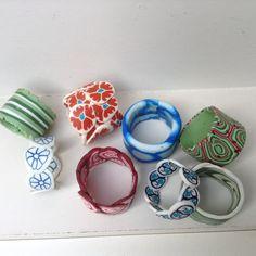 Ring polymerclay/ fimoklei