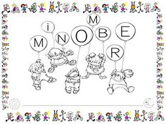 Mi grimorio escolar: PORTADA PROYECTO MI NOMBRE Nom Nom, Album, Education, School, Summary, Minions, Google, Names, Alphabet
