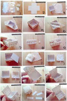 Fabric box tutorial