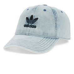 f748eab862f Women s Adidas Originals Relax Baseball Cap ( 26) ❤ liked on Polyvore  featuring accessories