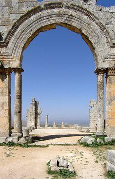 saint simeon, syria