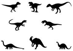 Dinosaur Silhouette - silhouettevector.net