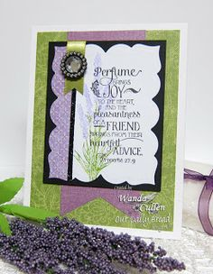 Stamps - Our Daily Bread Designs Lavender