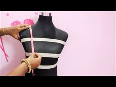 How to take body Measurements for Blouse-Tamil(DIY)) Part 1 Sari Dress, Saree Blouse, Blouse Desings, T Shirt Tutorial, Dress Sewing Patterns, Pattern Sewing, Blouse Neck Designs, 3 Piece Suits, Cute Blouses