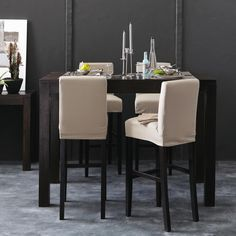 Tavolo da bar «Bogart» (70 x 115 cm) - Tavoli - Mobili per la sala ...