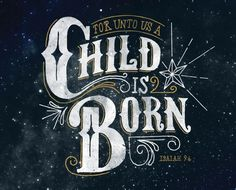A Child Is Born on Behance