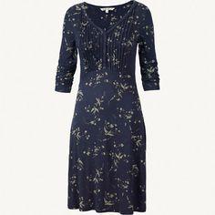 Gemma Drifting Bird Dress at Fat Face