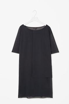 Sheer layered dress