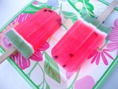 Watermelon Soapsicle!