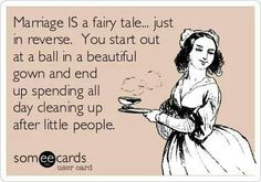 Marriage IS a fairy tale... #newlywedsurvival