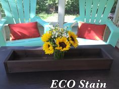 Eco Friendly Finish Wood Centerpiece by BlackIronworks on Etsy https://www.etsy.com/listing/465294512/eco-friendly-finish-wood-centerpiece