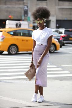 Gloriously Chic - All The Glorious Street Style Looks From New York Fashion Week