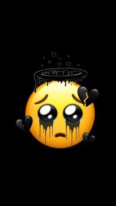 Black Wallpaper Iphone Dark, Iphone Wallpaper Cat, Cute Black Wallpaper, Crazy Wallpaper, Cute Emoji Wallpaper, Mood Wallpaper, Iphone Wallpaper Tumblr Aesthetic, Cute Patterns Wallpaper, Cute Wallpaper Backgrounds