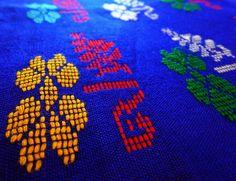 Kurta Fabric from Assam - Blue from Lal10.com