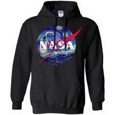 Van Gogh Starry Night NASA Shirt, Hoodie, Tank