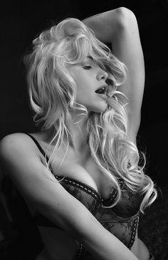 Overheated Blonde
