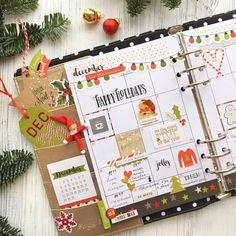 December planner page