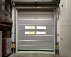 Katlanır pvc kapı; fabrika kapısı