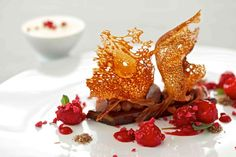 Restaurant- and Genießerhotel Landhaus Bacher › Gourmet-Residenzen Pilgrims, 30 Years, Panna Cotta, Restaurant, Ethnic Recipes, Food, Gourmet, Farmhouse, Dulce De Leche