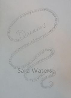 Day 42 Playing with words in a pattern /Sara Waters
