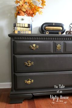 behr steal jet - Google Search  Good dupe for Annie Sloan graphite