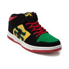 Mens IPath Grasshopper XT Skate Shoe in Black Rasta at Journeys Shoes.  Available exclusively at Journeys! eceb496dcc0