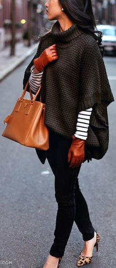 layering clothes ideas for winter 3
