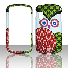 Buy Clover Patch Owl Samsung Stratosphere i405 Verizon Case Cover Hard Phone Case Snap-on Cover Rubberized Touch Faceplates NEW for 6.99 USD | Reusell
