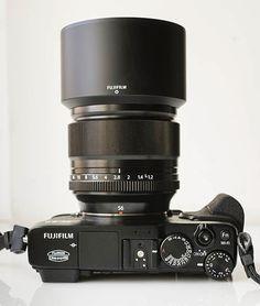 Sobre Fotografia: Fuji XF lente 56 milímetros f/1.2 - Mãos na revisão