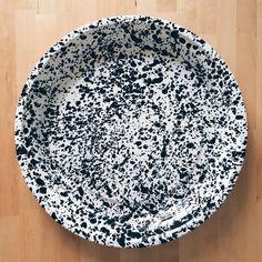 Black Marble Splatterware Tray