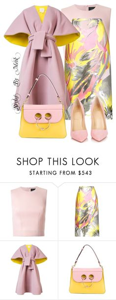 """""""Untitled #76"""" by lillady-parker-glanton ❤ liked on Polyvore featuring Simone Rocha, Rochas, Delpozo, J.W. Anderson, Christian Louboutin, GetTheLook, classy, polyvorefashion and LetMeikDressYou"""