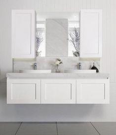 Trendy Bathroom Vanity Ideas Hamptons Ideas Bathroom – home accessories Bathroom Doors, Laundry In Bathroom, Bathroom Flooring, Bathroom Furniture, Bathroom Interior, Modern Bathroom, Small Bathroom, Bathroom Ideas, Bathroom Vanities