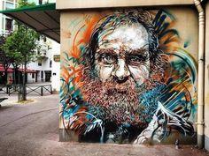 c215 , street art in Paris