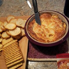 Hot & Cheesy Bruschetta Dip (Pampered Chef)