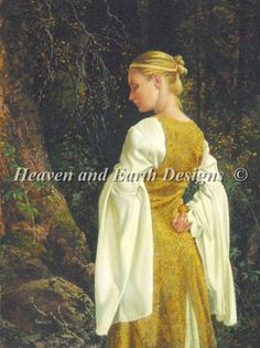 The Golden Ball da Heaven and Earth Designs - Schemi Punto Croce - Ricamo - Casa Cenina