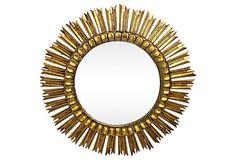 French  Sunburst  Mirror on OneKingsLane.com