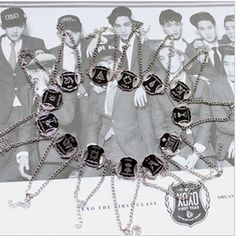 KPOP EXO XOXO GROWL constellation bracelet each member