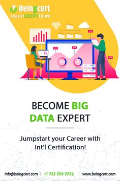 #BigData is the in-demand #skill for today's time. They are needed for creating and maintaining analytics infrastructure and look after the development, deployment and architecture components. If you're equipped in performing the aforementioned activities then head on to become a Big Data Expert today with the #Beingcert #certification. Big Data, Certificate, How To Become