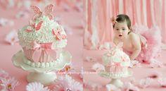 Adorable smash cake!